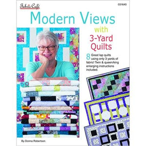 Modern Views with 3-Yard Quilts - Pattern Book - The Sewing Gallery
