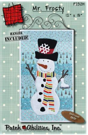Mr Frosty with Hanger - The Sewing Gallery