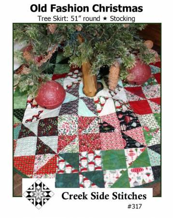 Old Fashion Christmas Tree Skirt Pattern - The Sewing Gallery