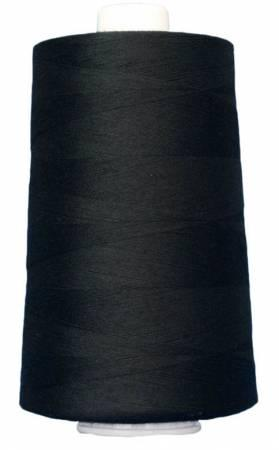 Omni Polyester Thread  Black3026 - The Sewing Gallery