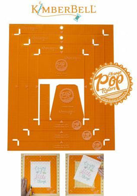 Orange Pop Rulers Rectangle Set - The Sewing Gallery