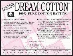 Quilter's Dream Natural Cotton Double - The Sewing Gallery