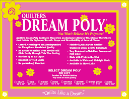 Quilter's Dream Poly Double Black - The Sewing Gallery