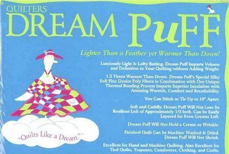 Quilter's Dream Puff Throw - The Sewing Gallery
