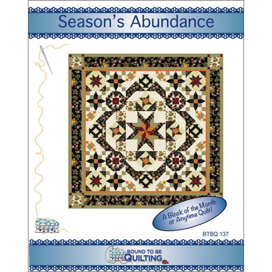 Season's Abundance Quilt Kit - The Sewing Gallery
