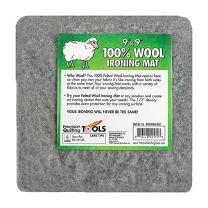 "Wool Ironing Mat 9"" x 9"" 0909WOOLMAT Precision Quil - The Sewing Gallery"