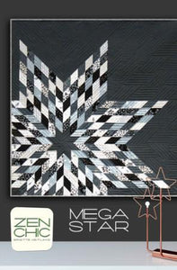 Zen Chic Mega Star Pattern - The Sewing Gallery
