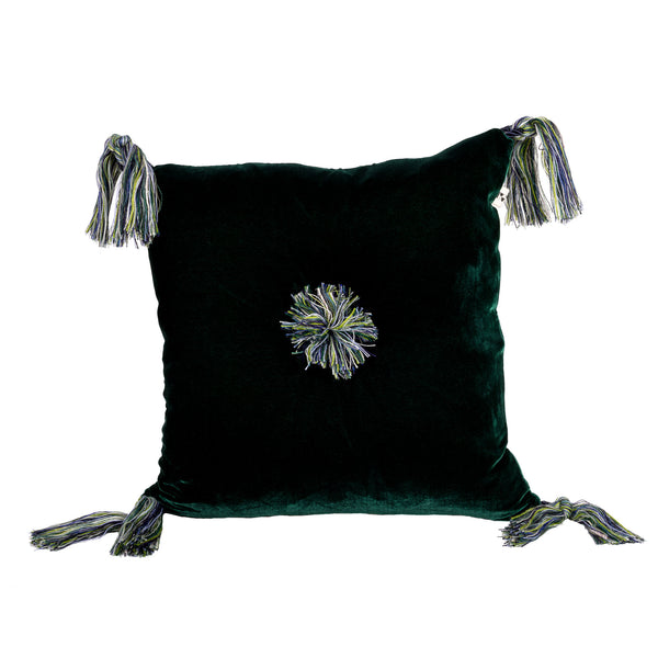 Harem Cushion in Green