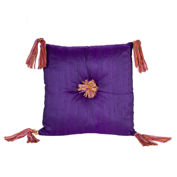 Harem Cushion in Magenta