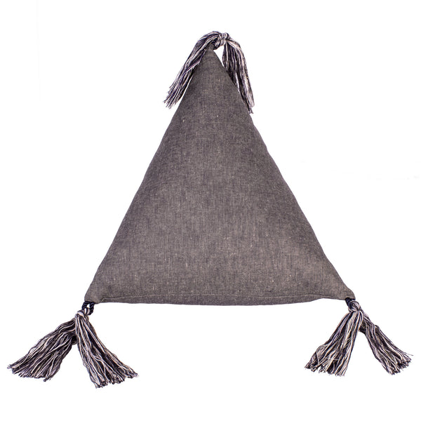 Pyramid Cushion in Linen