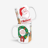 All I Want For Xmas Is Trump In The Whitehouse  Classic Glossy Mug
