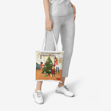 All I Want For Xmas Is Trump In The Whitehouse Heavy Duty and Strong Natural Canvas Tote Bags - BelieveInMeBelieveInYou