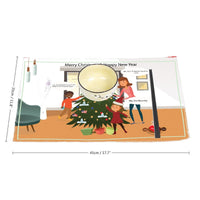 Trump All I Want For Xmas Four-sheet Placemats - BelieveInMeBelieveInYou