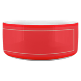 Trump-Pence Righteous Red White-house Pet Dog Bowl - BelieveInMeBelieveInYou