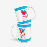 Trump Loves You And America Classic Glossy Mug