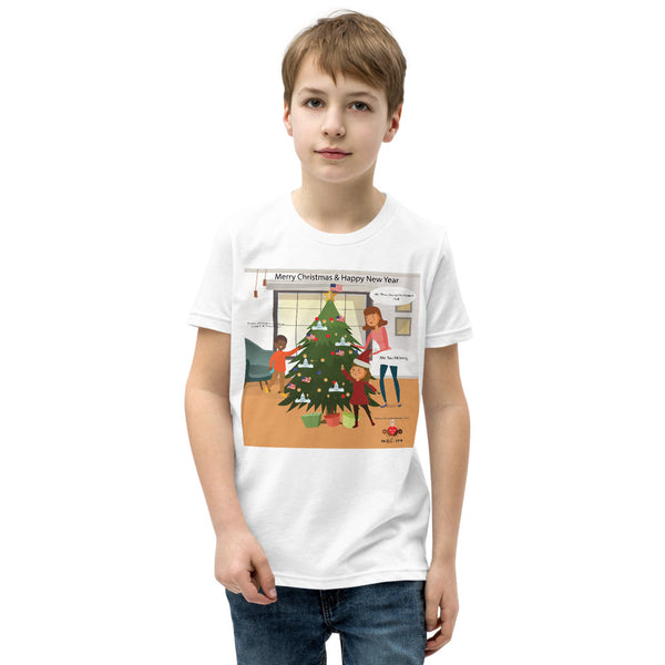 All I Want For Xmas Is Trump In The Whitehouse Youth Short Sleeve T-Shirt