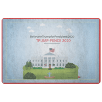 Trump-Pence Morning Glory Doormat - BelieveInMeBelieveInYou