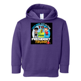 I'm Voting For Trump Pullover Fleece Hoodie