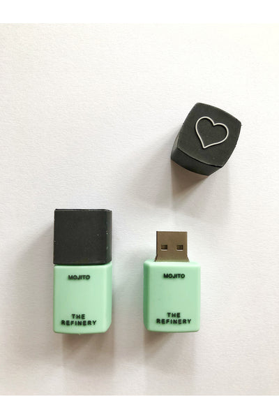 MOJITO NAIL POLISH 16GB USB FLASH DRIVE