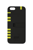 BLACK IPHONE 6/6S CASE WITH YELLOW TOOLS