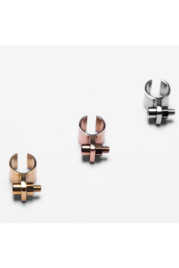 ROSE GOLD SCREW EAR CUFF