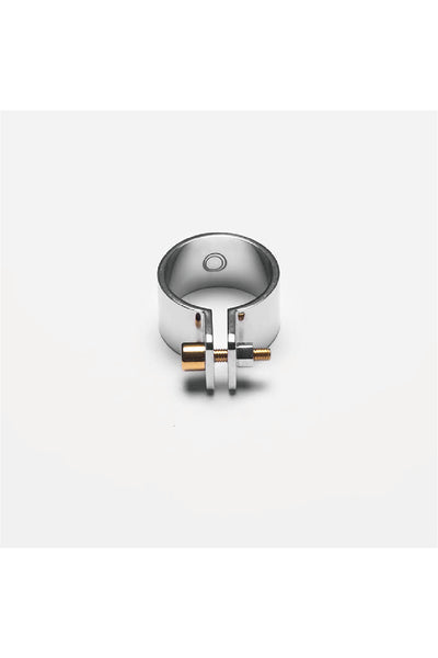 SILVER SCREW RING