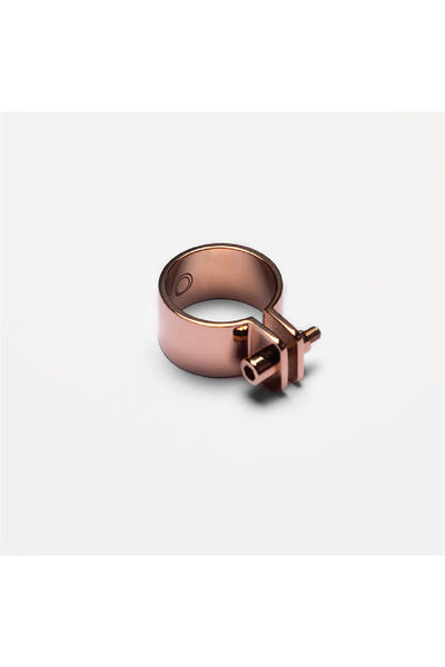 ROSE GOLD SCREW RING