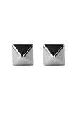 SILVER STUD EARRINGS