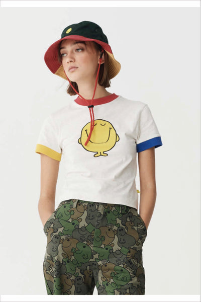 MR. HAPPY COLOUR BLOCK TEE