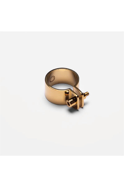 GOLD SCREW RING