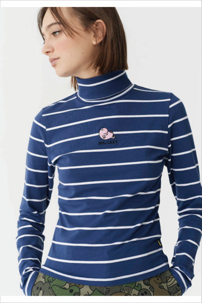MR. LAZY STRIPY TOP