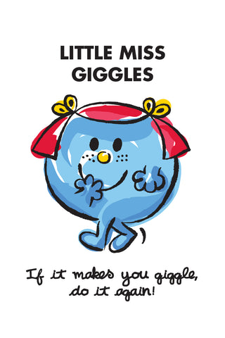 LITTLE MISS GIGGLES LIMITED EDITION ART PRINT