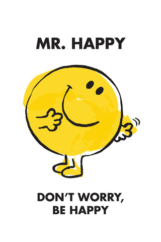 MR. HAPPY LIMITED EDITION ART PRINT