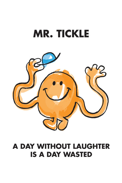 MR. TICKLE LIMITED EDITION ART PRINT
