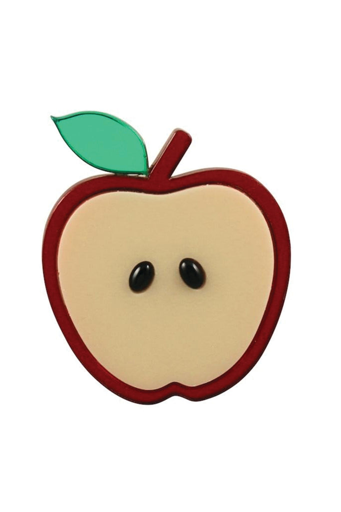 APPLE OF MY EYE BROOCH