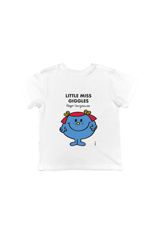 LITTLE MISS GIGGLES PERSONALISED CHILDREN'S T-SHIRT