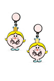 LITTLE MISS PRINCESS EARRINGS