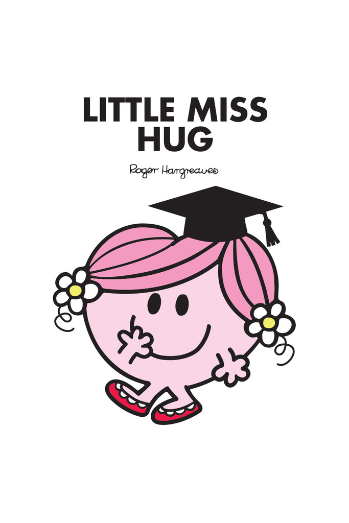 LITTLE MISS HUG GRADUATION PERSONALISED ART PRINT