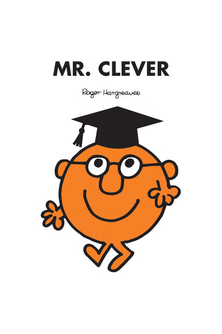 MR. CLEVER GRADUATION PERSONALISED ART PRINT