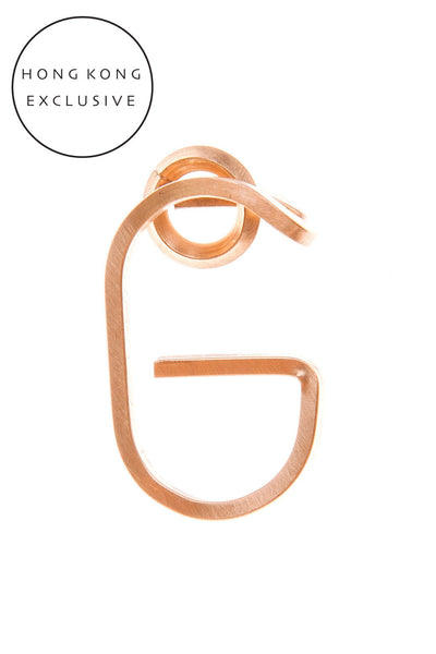 "14K GOLD FILL ""G"" PENDANT"