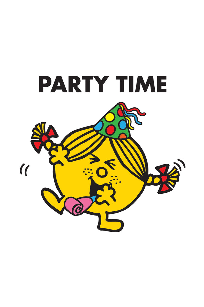 "LITTLE MISS SUNSHINE ""PARTY TIME"" CARD"