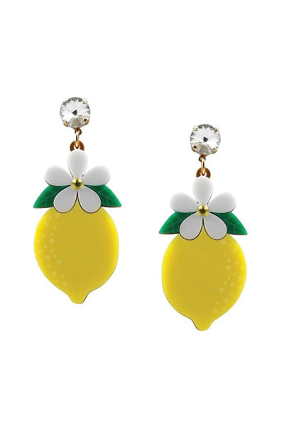LEMON BLOSSOM EARRINGS