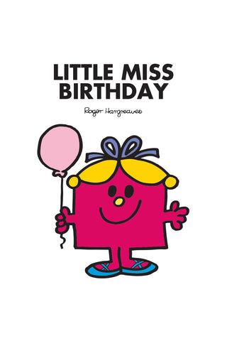 LITTLE MISS BIRTHDAY PERSONALISED ART PRINT