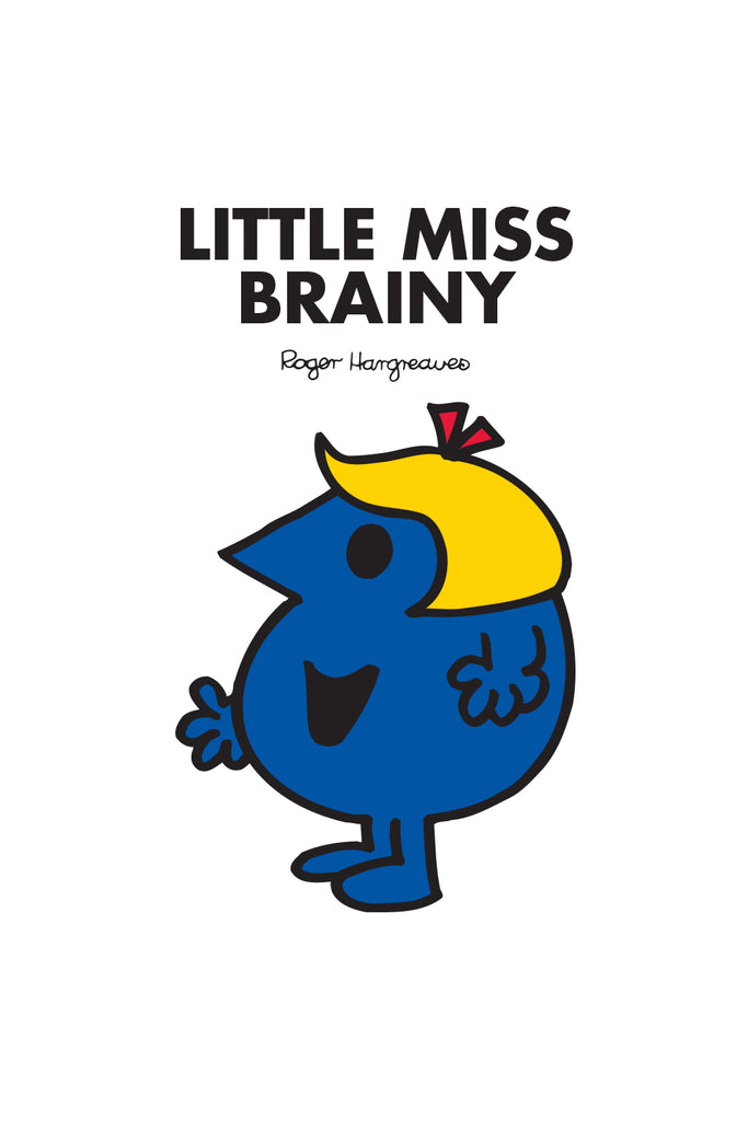 LITTLE MISS BRAINY PERSONALISED IMPACT PHONE CASE BY CASETIFY