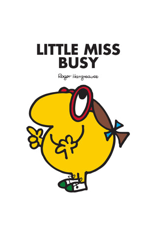 LITTLE MISS BUSY PERSONALISED ART PRINT