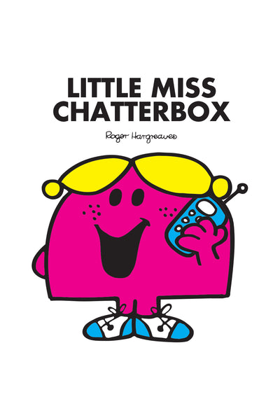 LITTLE MISS CHATTERBOX PERSONALISED ART PRINT