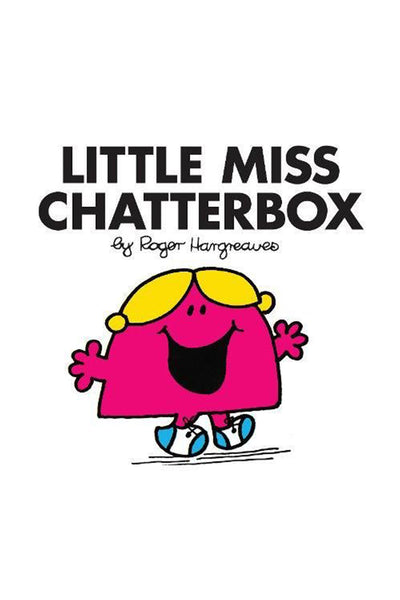 LITTLE MISS CHATTERBOX BOOK