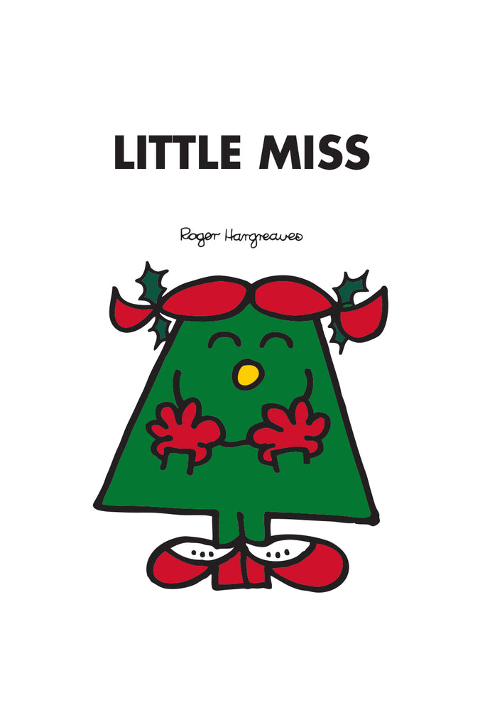 LITTLE MISS CHRISTMAS PERSONALISED MUG