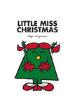 LITTLE MISS CHRISTMAS PERSONALISED ART PRINT
