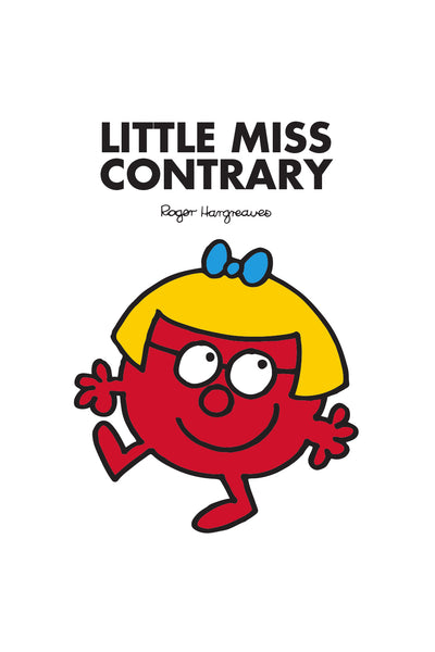 LITTLE MISS CONTRARY PERSONALISED ART PRINT